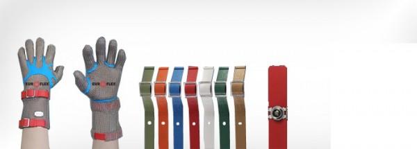 Euroflex Stechschutzhandschuh comfort magnetic mit 19cm Stulpe Edelstahl detektierbar