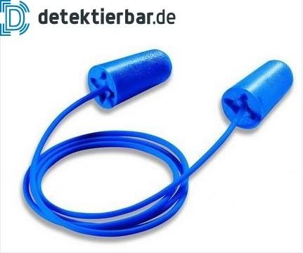 Detektierbarer Einweggehörschutzstöpsel Gehörschutz Ohrstöpsel detektierbar UVEX x-fit detec