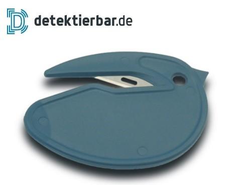 Sicherheitsmesser Brieföffner Folienschneider Mini detektierbar