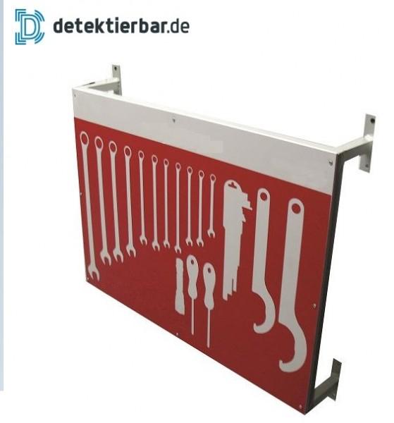 Schattenwand für Ihre Reinigungsprodukte bis 0,5m²