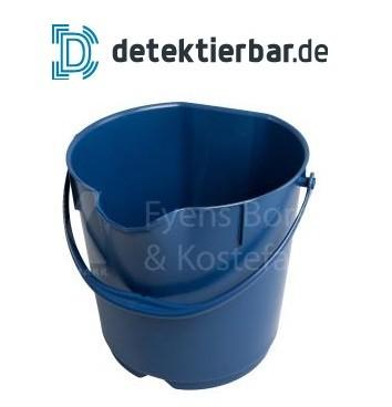 Kunststoffeimer 15 Liter detektierbar blau