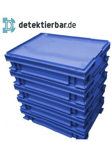 Abdeckung für E2-Kiste Kistendeckel Deckel 600x400mm detektierbar Verschluß für E2-Kisten X-Ray visi