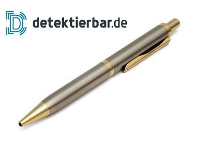 Metall Kugelschreiber Edelstahl/Messing