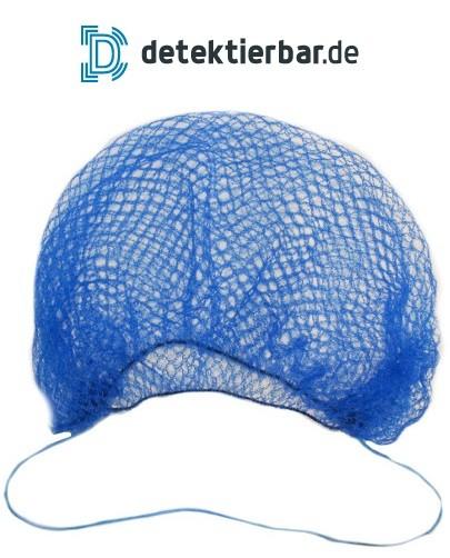 Detektierbarer Bartschutz Netzbartschutz Nylon blau detektierbar Mehrweg (25 Stück per VE)