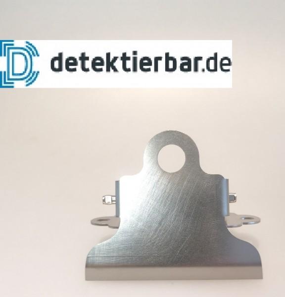 Detektierbare Klemme aus Edelstahl 8,0cm