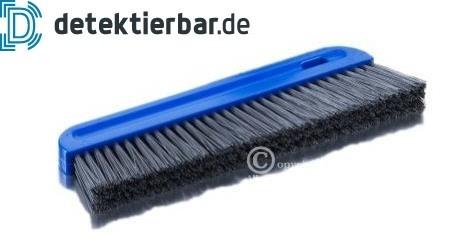 Detektierbarer Handbesen 300x20mm Mehlbesen blau FBK - Borsten detektierbar