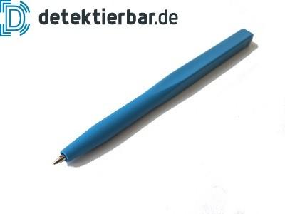 Kugelschreiber einfach, detektierbar, feststehende Mine, ohne Clip