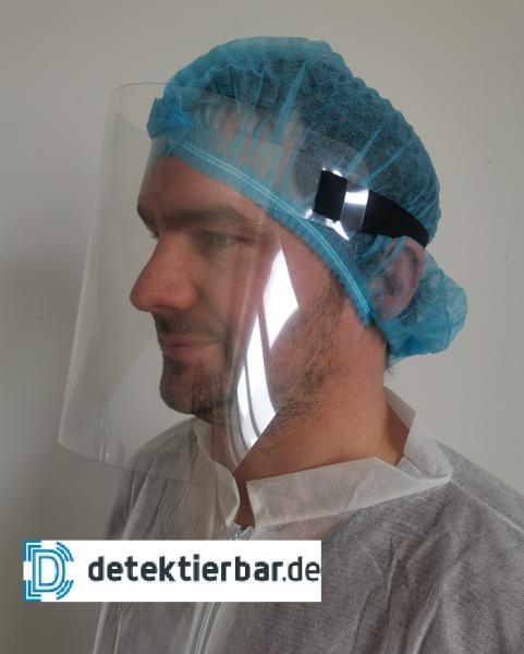 Gesichtsvisier FaceShield Face Shield Gesichtsschutz Visier Transparent PET