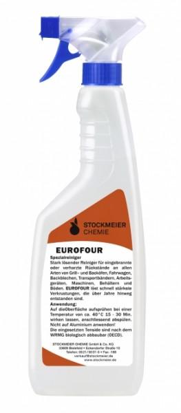 Eurofour Grillreiniger - Backofenreiniger - Fettlöser - Rauchharzentferner - Flasche á 750 ml
