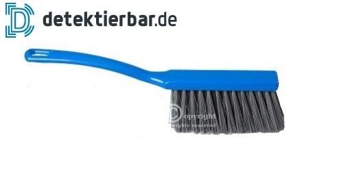 Detektierbare Bürste Handfeger 340x35mm blau FBK - Borsten detektierbar
