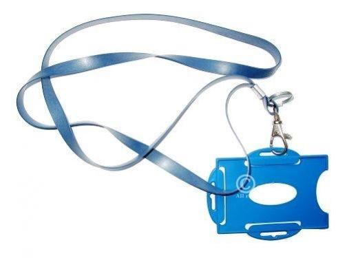 Lanyard Schlüsselband Silikongummi detektierbar, Metallclip und Split Ring