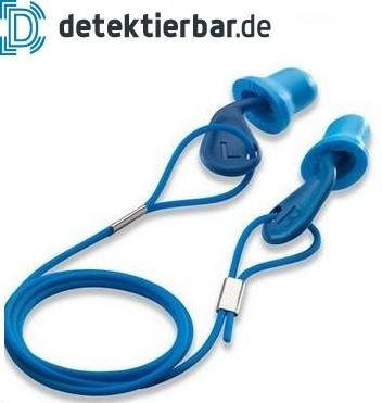 Detektierbarer Einweggehörschutzstöpsel Gehörschutz Ohrstöpsel detektierbar UVEX xact-fit detec
