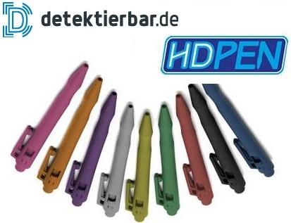 Spezial Kugelschreiber HD, detektierbar, große Farbauswahl