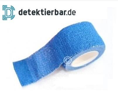 Pflaster blau auf Rolle 3cmx5m selbsthaftend (nicht detektierbar)