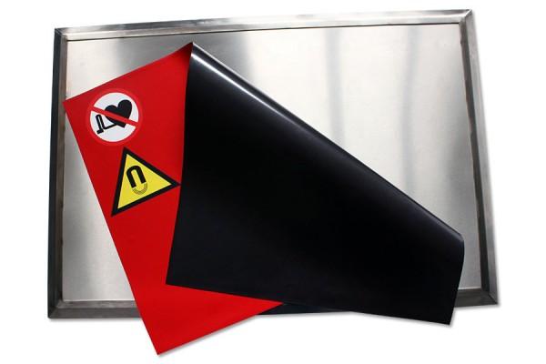 Magnetmatte 900x600mm Fußmatte magnetisch (entfernt Metallspäne und Metallstaub von Schuhsohlen)