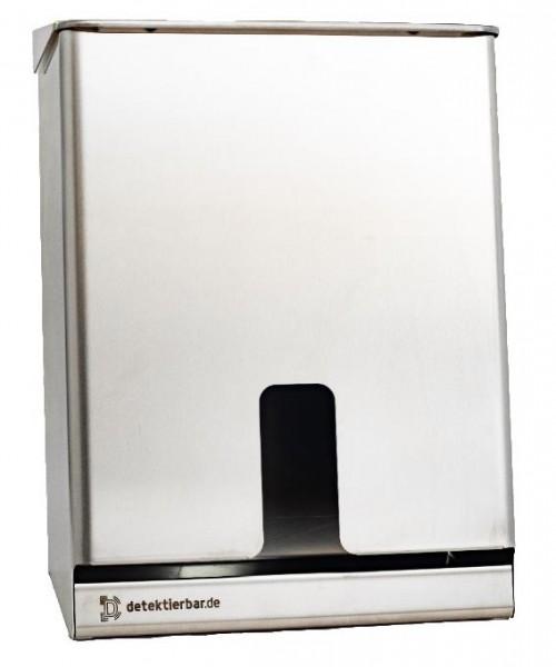 Spender für Kopfhauben Multispender Edelstahl 275mm x 387mm x 150mm