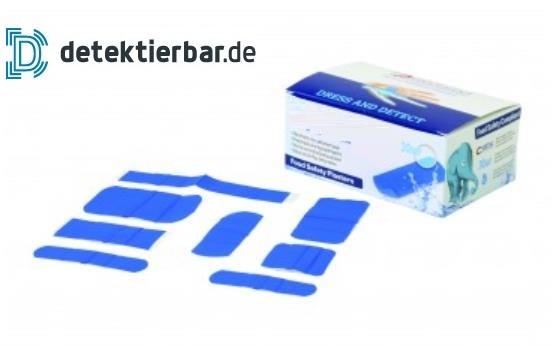 Pflaster blau detektierbar X-RAY DELUXE versch. Größen