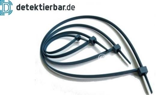 Kabelbinder PREMIUM extra detektierbar 100 Stück