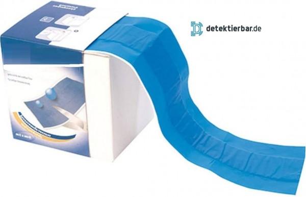 Pflaster auf Rolle blau Folie detektierbar