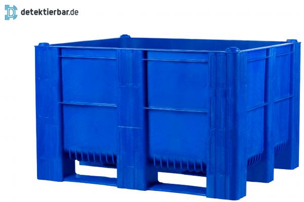 Detektierbare Kunststoff Palettenbox - Big Box detektierbar - Großbehälter detektierbar Abmessung: 1