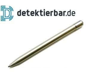 Metallkugelschreiber, Metall Kugelschreiber, detektierbar, feststehende Mine, ohne Clip, ohne Ring