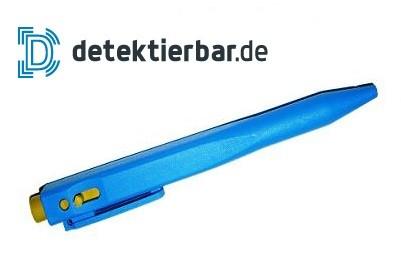 Kugelschreiber HEAVY, detektierbar, Clip, wechselbare Mine, einziehbar, Kalt,-Nassbereich