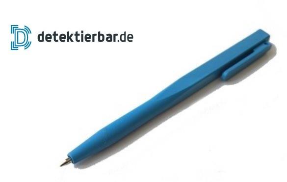Kugelschreiber einfach, detektierbar, feststehende Mine, mit Clip