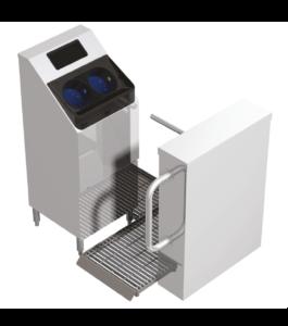 CleanTech 2000SCA Handwaschsystem von Meritech Zugangskontrolle Drehkreuz